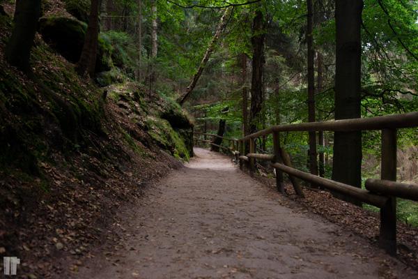 Hrensko sentiero
