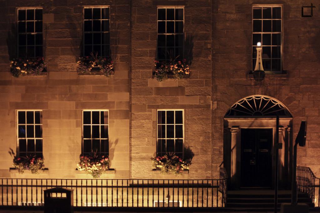 Scozia_Edimburgo_Centro_Sera