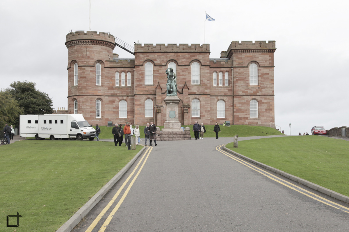 Scozia_Inverness_Castello