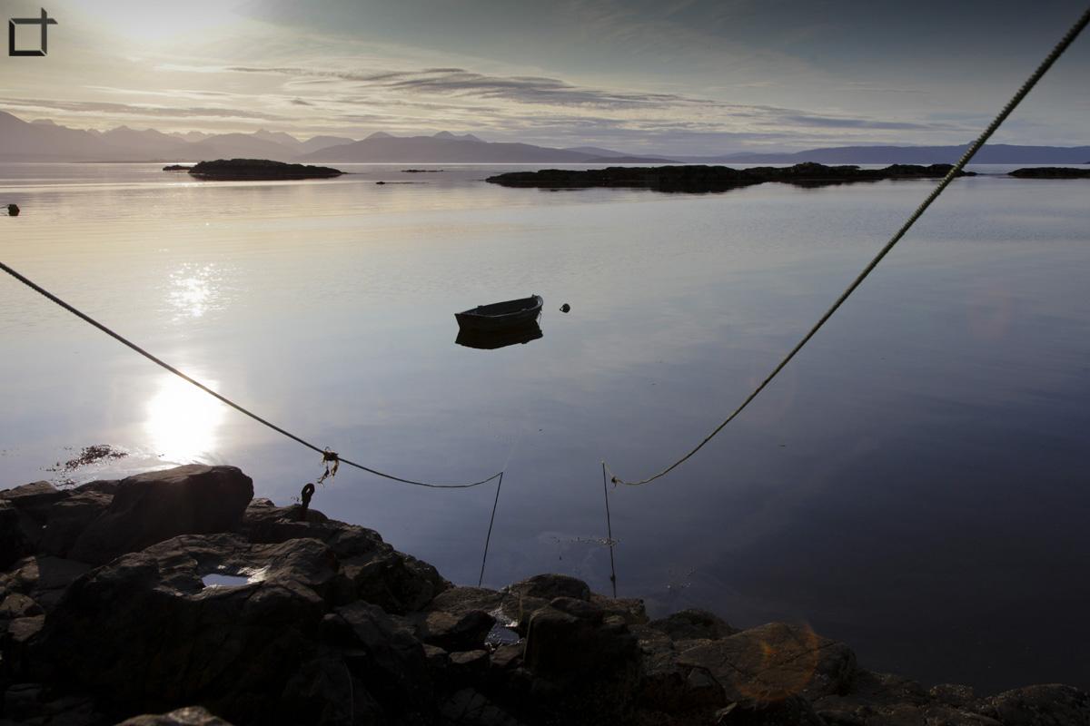Scozia_Barca_tramonto
