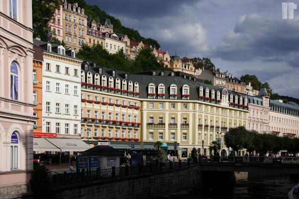 Karlovy Vary Facciate Stile Secese