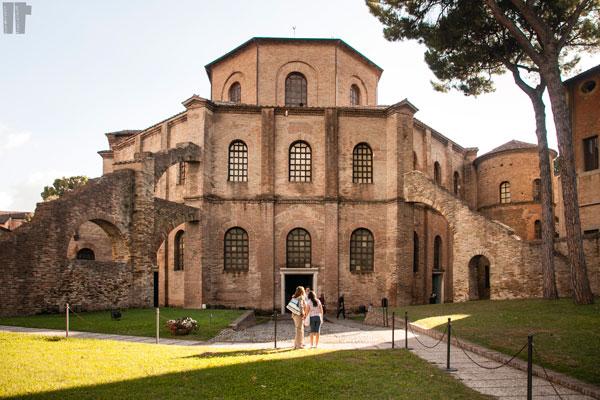 Basilica San Vitale Ravenna Esterno