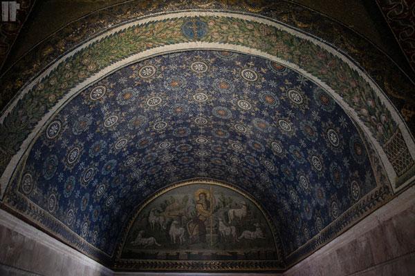 Mausoleo Galla Placidia Mosaico