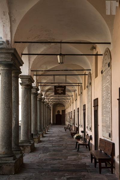 Santuario di Oropa Porticato