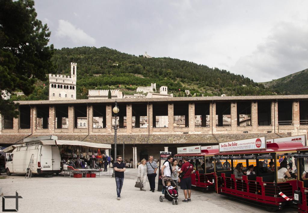 Gubbio portici