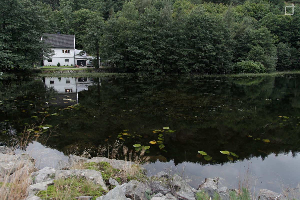 Casa con Lago Norvegia