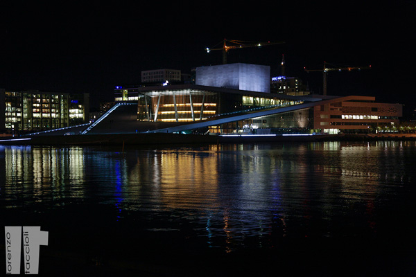 Teatro Opera Oslo Notte