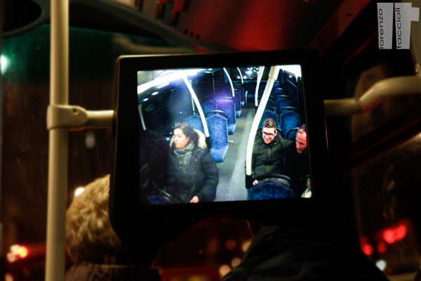 Autobus Londra Sorveglianza