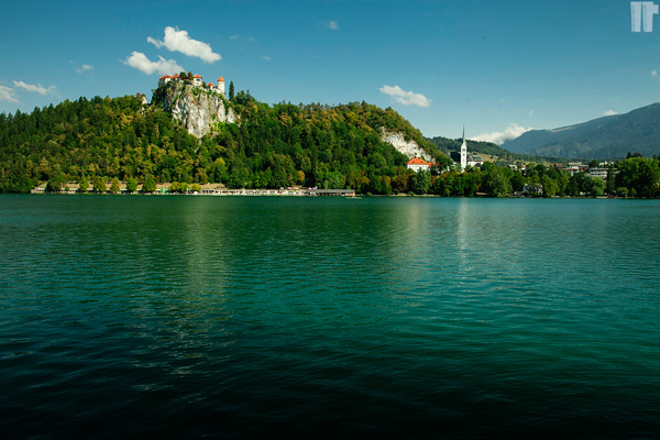 Castello dal lago di Bled