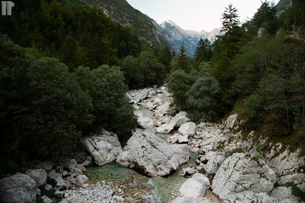 Letto del fiume