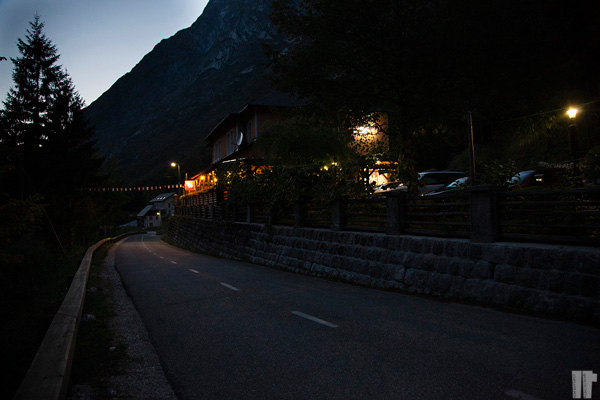 Slovenia strada del ritorno