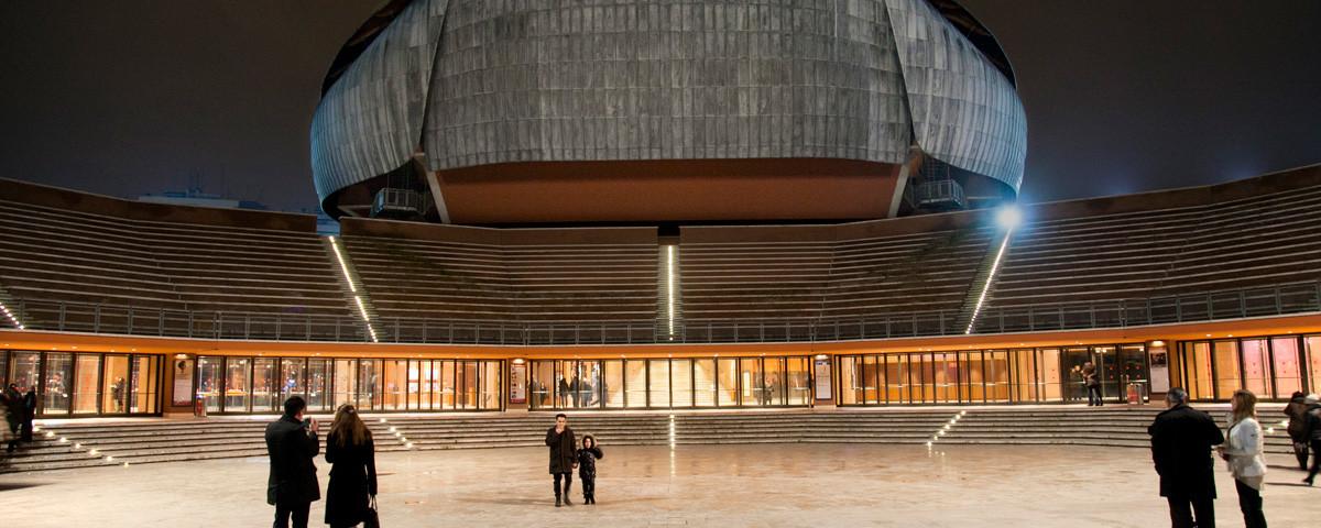 Parco della Musica Roma Renzo Piano Struttura