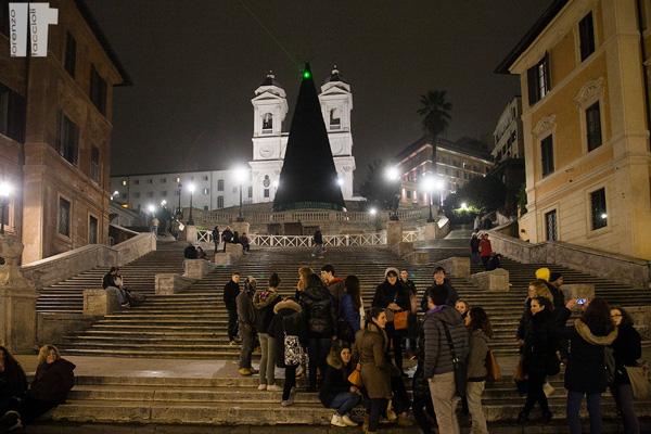 Piazza di Spagna Scalinata Trinità dei Monti