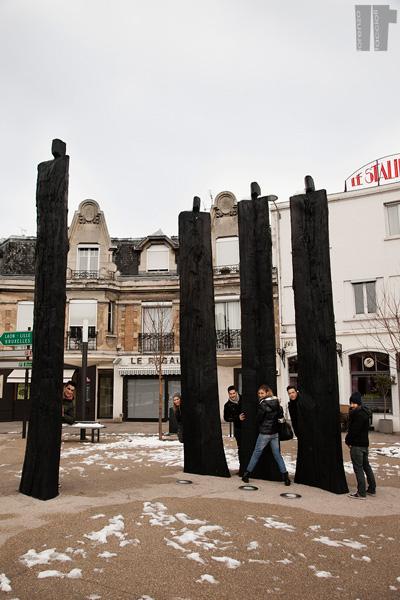 Statue Reims
