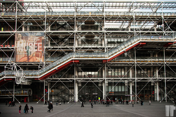 Centre Pompidou Edificio