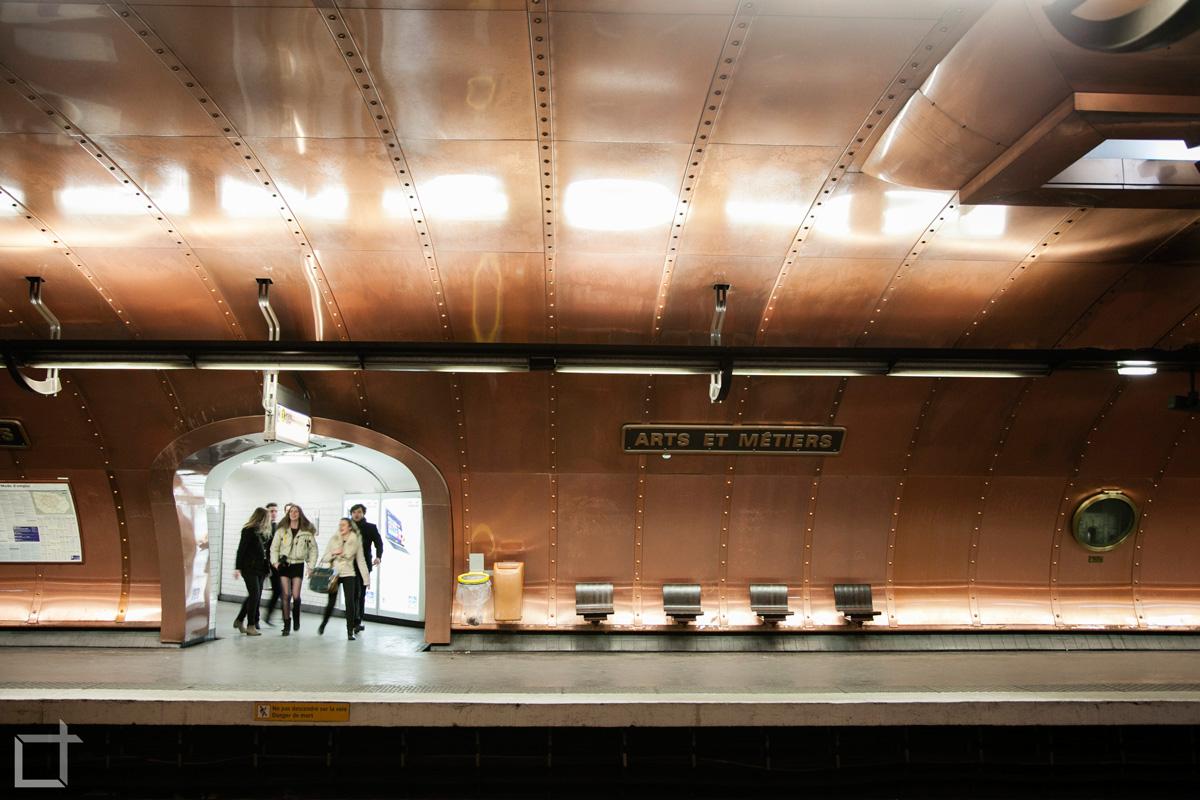 Metropolitana Arts et Metiers Parigi