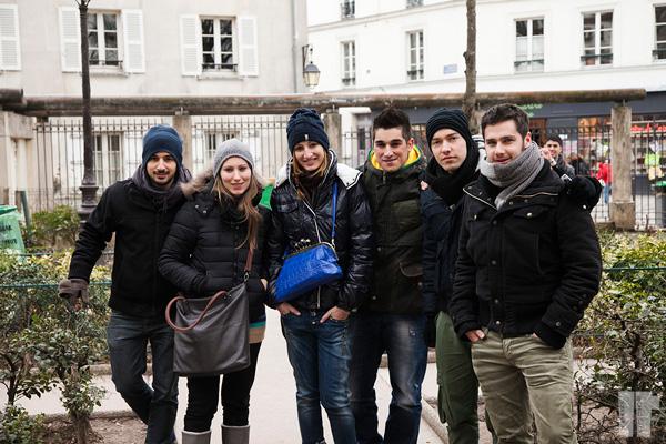 Ragazzi Parigi