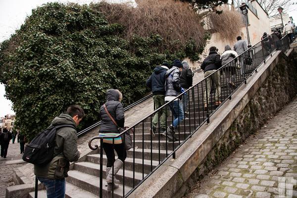 Scalinata Montmartre