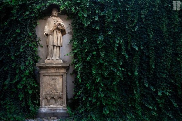 Giardino Statua