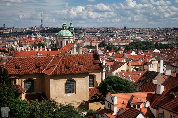 Praga Panorama dal Castello