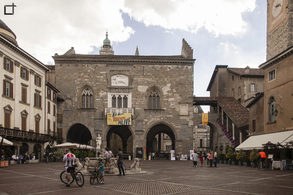 Bergamo Palazzo della Ragione