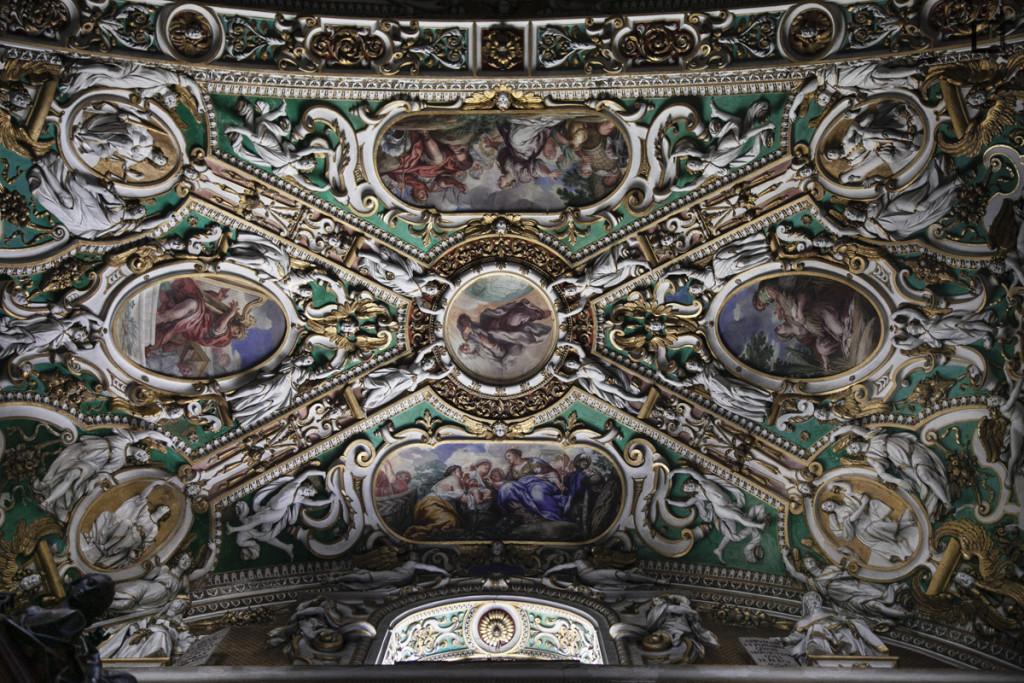 Sant'Alessandro Decori Soffitto