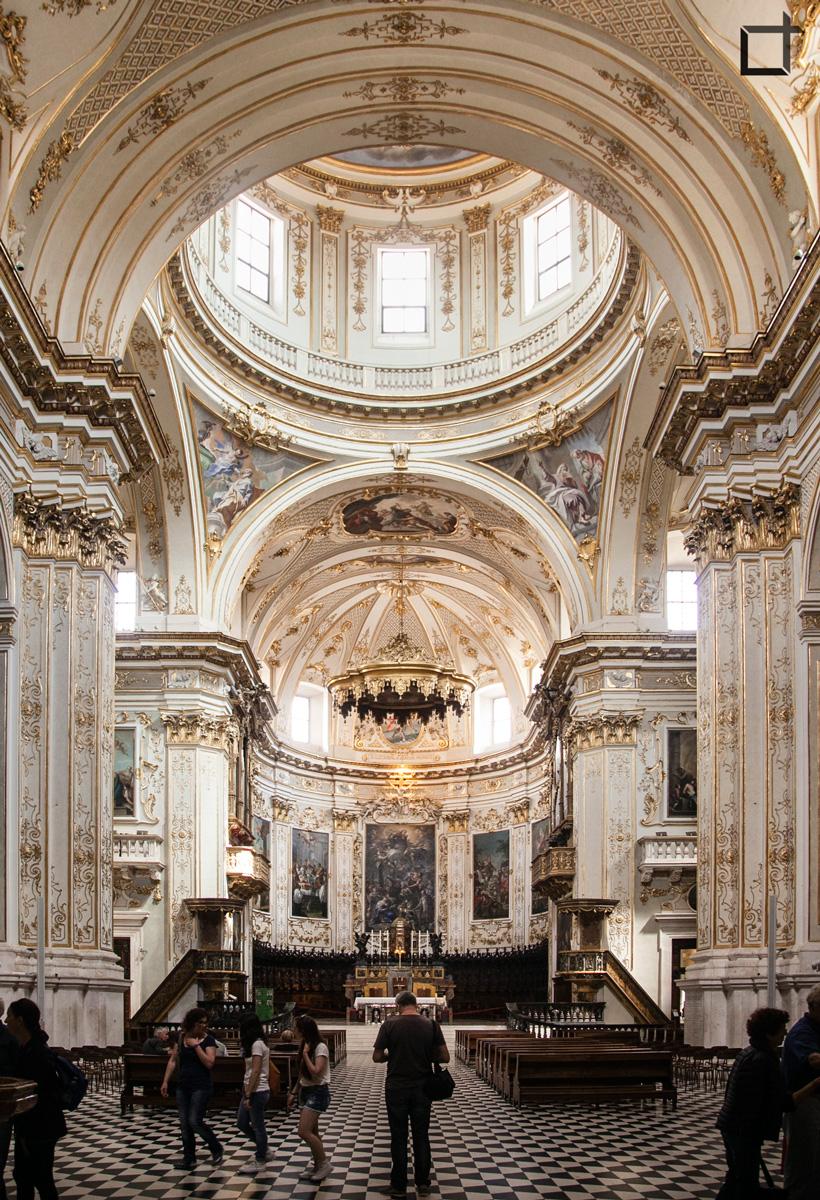 Cattedrale Bergamo Interni