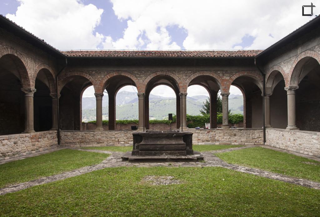 Bergamo Chiostro San Francesco