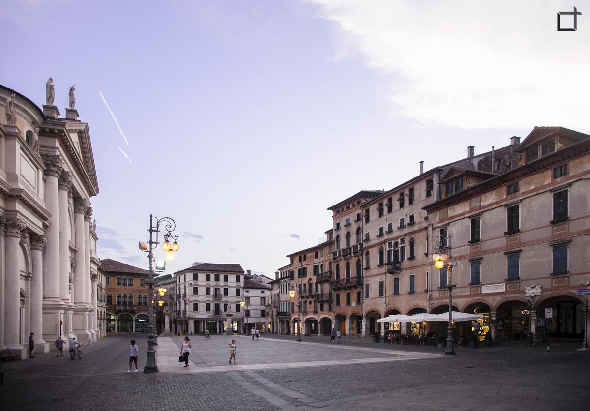 Piazza Libertà Bassano del Grappa