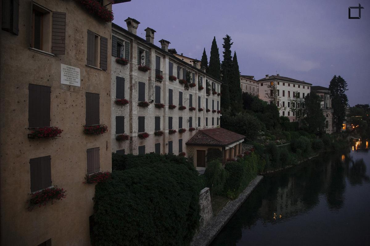 Bassano del Grappa Case sul Brenta Sera