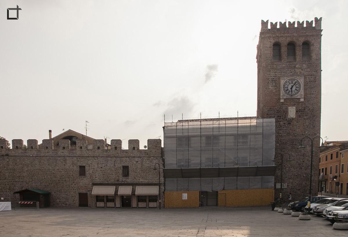 Piazza Mazzini Monselice Torre Civica dell'Orologio