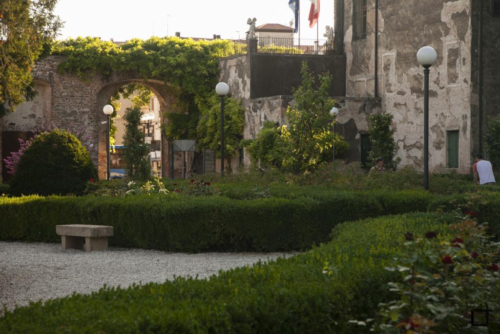 Giardino Castello Carrarese
