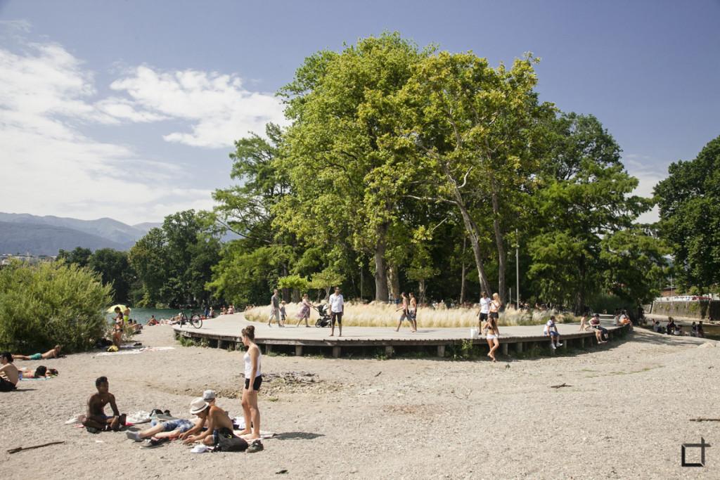 Spiaggia Lugano