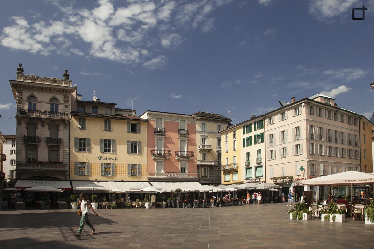 Piazza Riforma Lugano