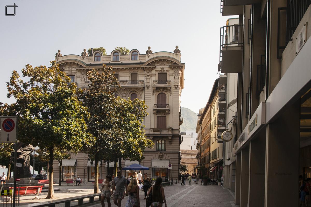 Piazza Carlo Battaglini Palazzo Patuzzo