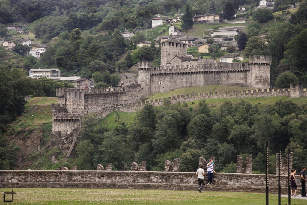 Castello di Montebello da Castelgrande
