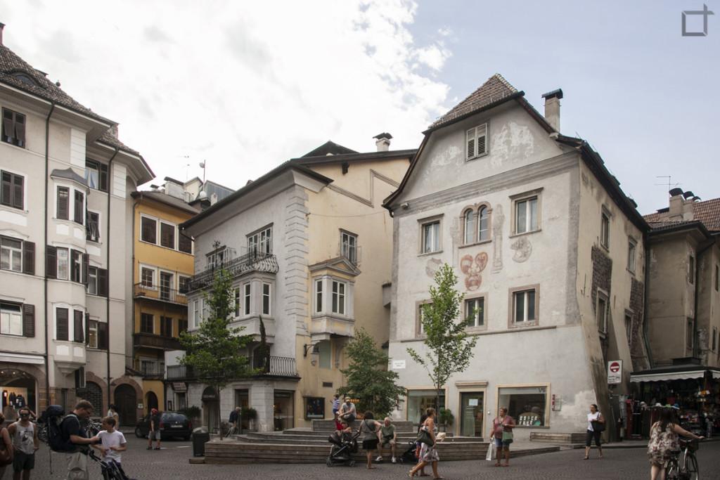 Bolzano Piazza del Grano