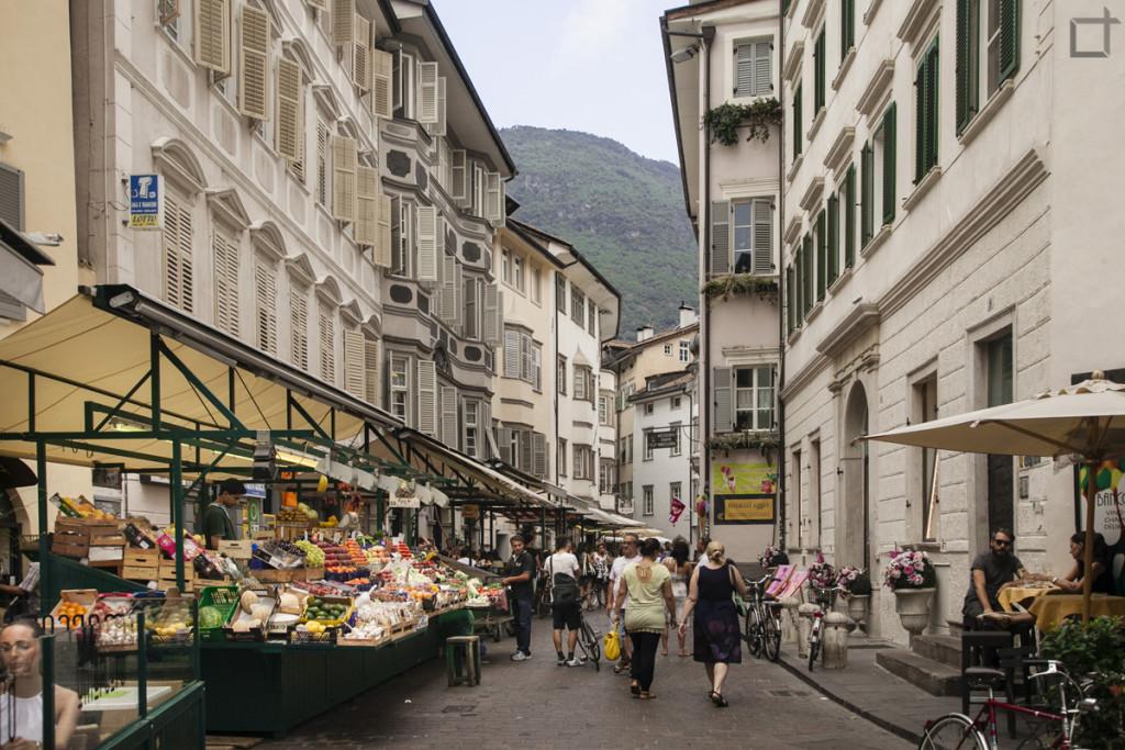 Mercato nel Centro di Bolzano
