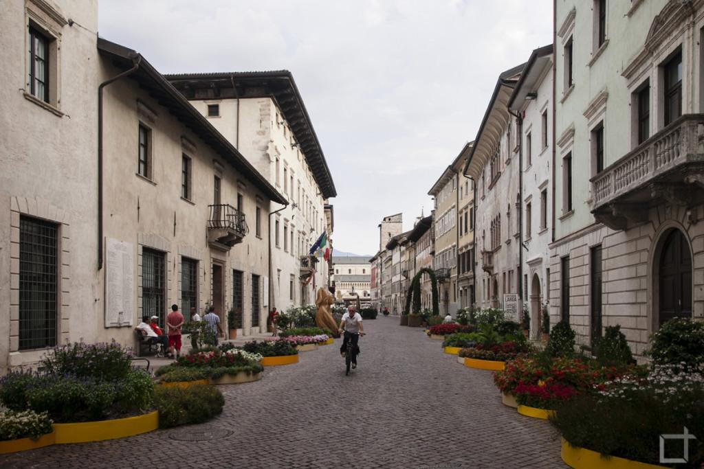 Via Belenzani con Aiuole