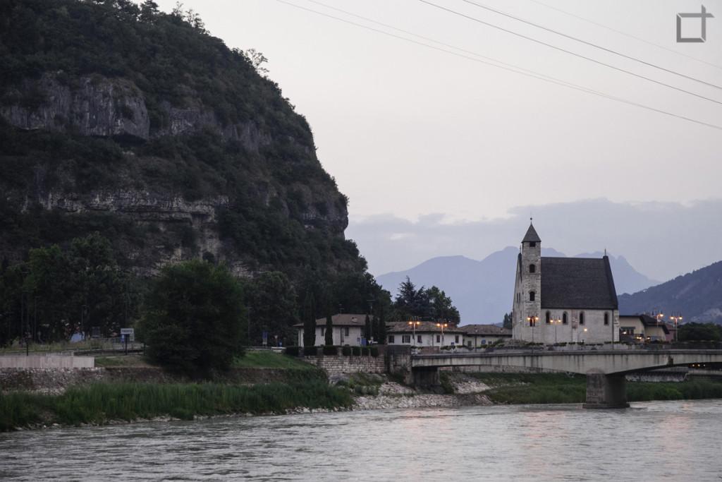 Fiume Adige Trento