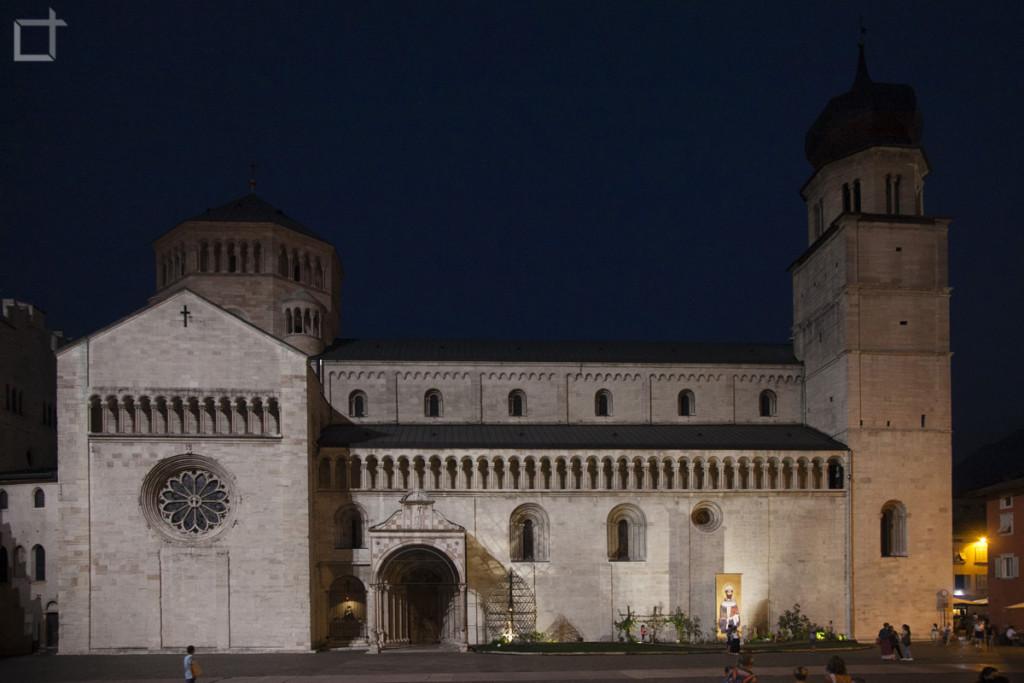 Cattedrale di San Vigilio di sera
