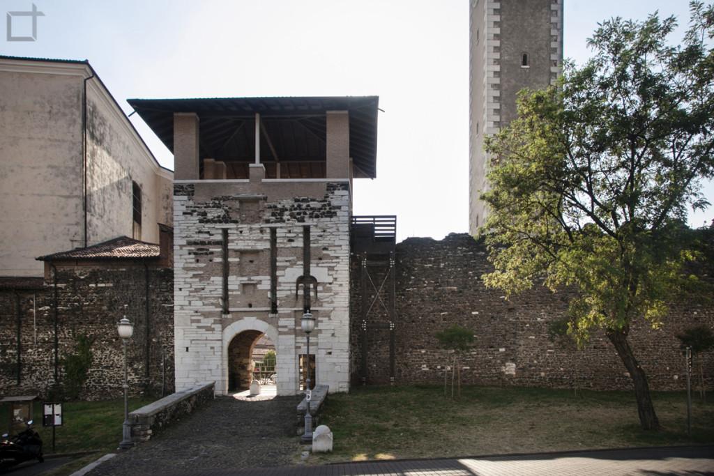 Mura Rocca Scaligera