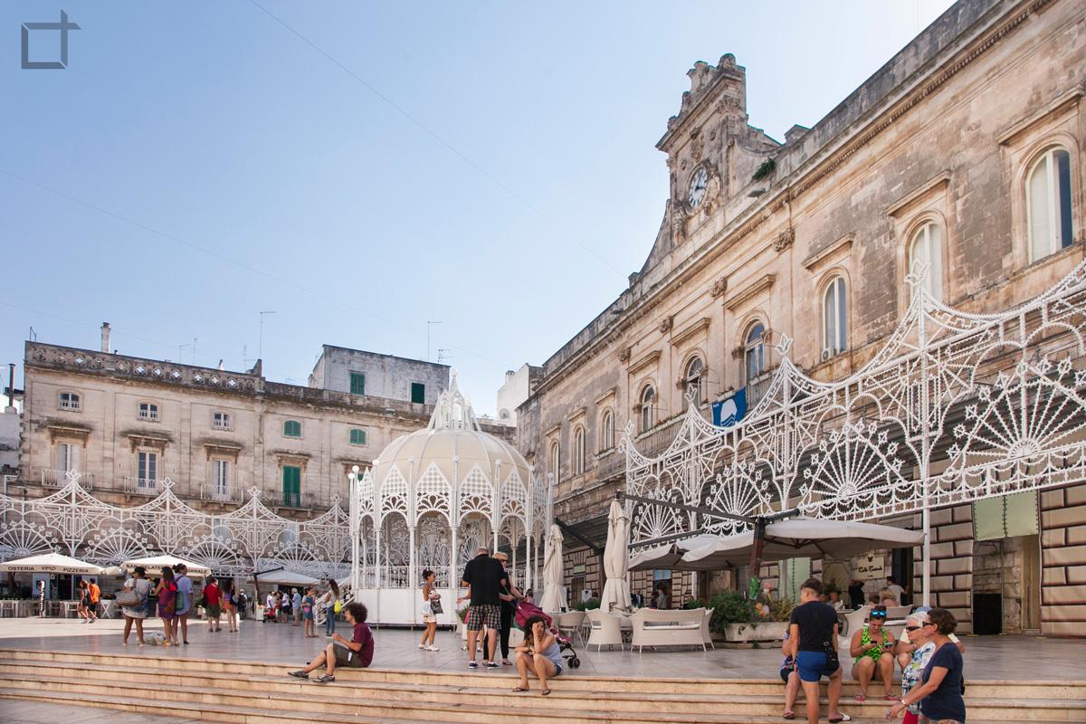 Palazzo San Francesco, Piazza della Libertà