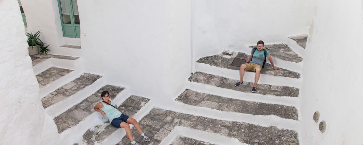 Incrocio ad Ostuni, Valentina e Stefano