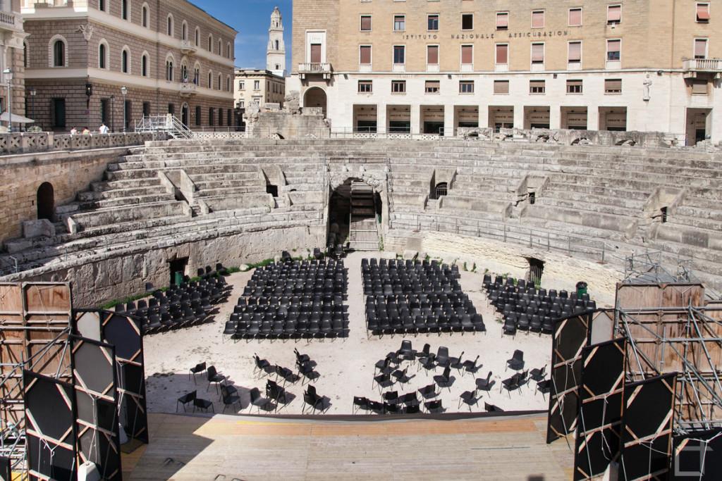 Piazza Sant'Oronzo Anfiteatro Romano