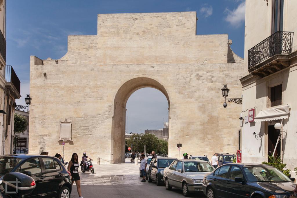 Lecce, Porta Napoli