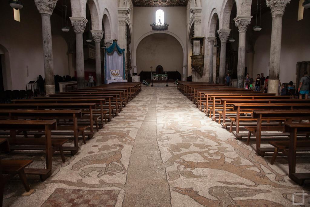 Mosaico Santa Maria Annunziata, Otranto