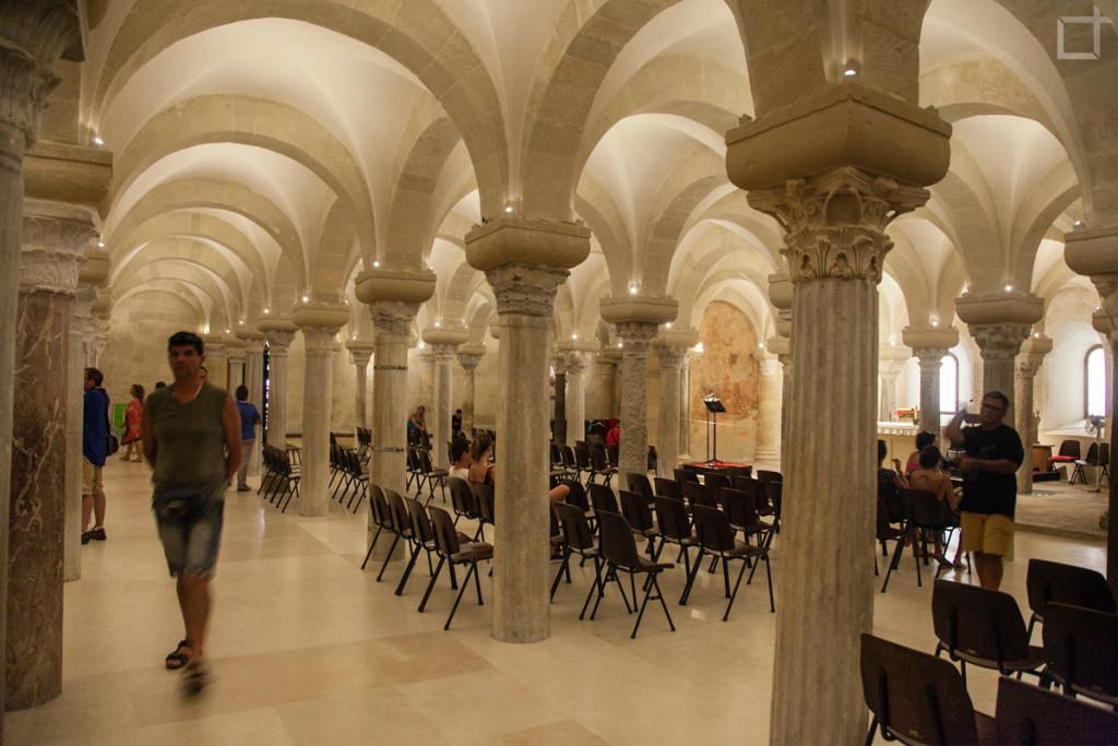 Cattedrale Santa Maria Annunziata, Cripta