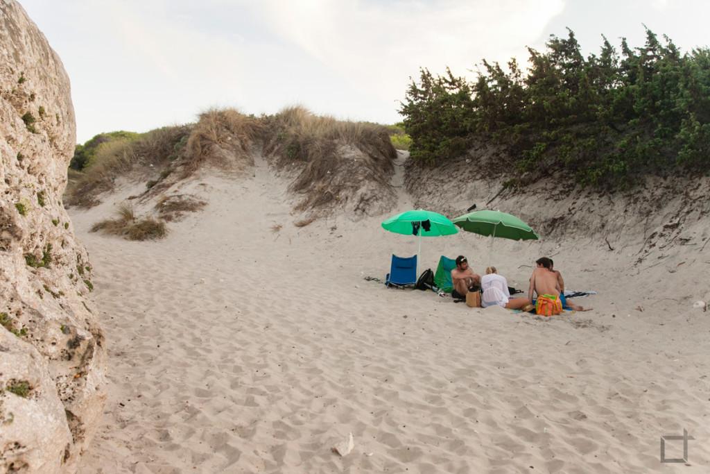 Spiaggia in Salita