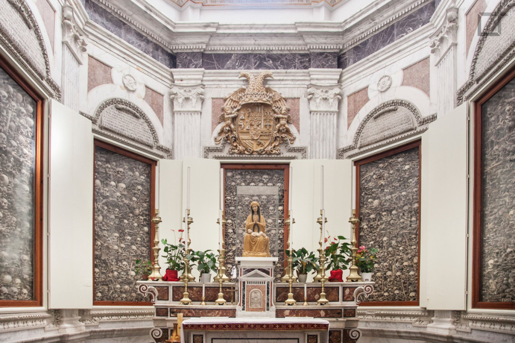 Cattedrale Santa Maria Annunziata, Teschi